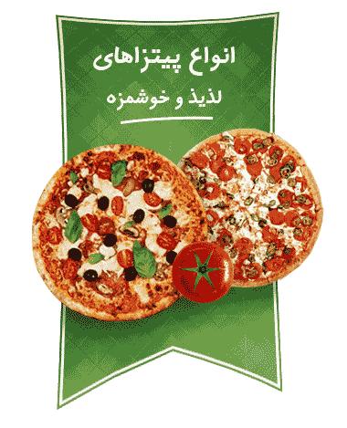انواع پیتزا های رستوران های هایدا تصویر 2 عکس استفاده شده در سایت رستوران هایدا