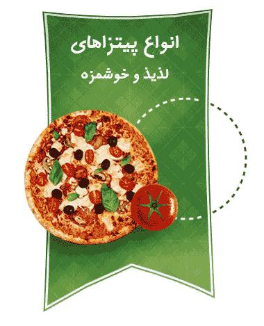 انواع پیتزا های رستوران های هایدا عکس استفاده شده در سایت رستوران هایدا